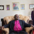 Nolbert Kunonga in his Harare offices (photo by The New York Times).