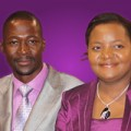 Prophet Makandiwa with his wife prophetess Ruth Makandiwa. (photo from UFIM web site)