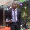 Mathias Mhere stole the thunder at the fifth edition of the Open Heavens Gospel Crusade held at Harare Gardens on Saturday (photo: M Chibaya).