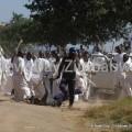 Vapostori attacking Cops in Budiriro (photo: Newsday)