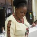 Caroline Maposhere a sexual reproductive health expert (photo: M Chibaya).