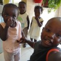 Foto of Children at a children's home outside Harare